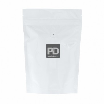 Coffee pouch white