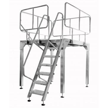 Working platform stainless steel